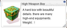 High Weapon Box