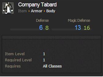 Company Tabard
