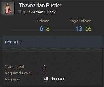 Thavnairian Bustier
