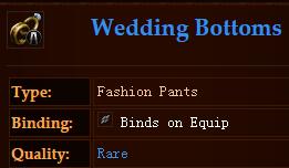 Wedding Bottoms