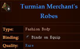 Turmian Merchants Robes