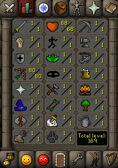 Instant Delivery 100% Safe Just 80 Ranged OSRS Account,No email bound,H4ND Trained