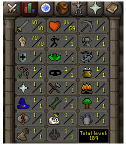Instant Delivery 100% Safe att40-str70-def1 OSRS Account,No email bound,H4ND Trained