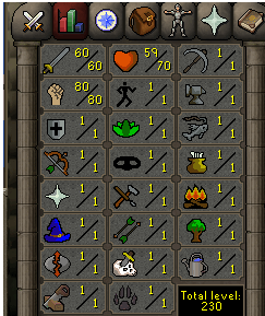 Instant Delivery 100% Safe att60-str80-def1 OSRS Account,No email bound,H4ND Trained