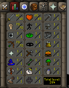 Instant Delivery 100% Safe att40-str70-def1 range70 OSRS Account,No email bound,H4ND Trained