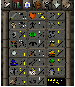 Instant Delivery 100% Safe att50-str70-def1 range70 OSRS Account,No email bound,H4ND Trained