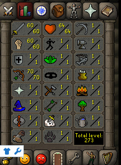 Instant Delivery 100% Safe att60-str60-def1 range70 OSRS Account,No email bound,H4ND Trained