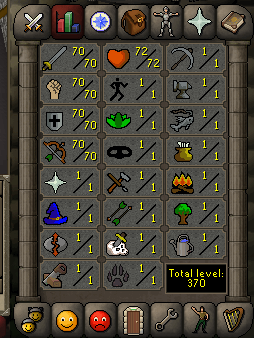 Instant Delivery 100% Safe att70-str70-def70 range70 OSRS Account,No email bound,H4ND Trained