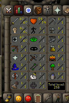 Instant Delivery 100% Safe att60-str60-def60 OSRS Account,No email bound,H4ND Trained