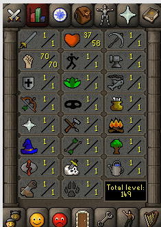 Instant Delivery 100% Safe just str 70 OSRS Account,No email bound,H4ND Trained