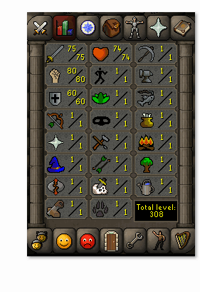 Instant Delivery 100% Safeattatt75-str80-def60 OSRS Account,No email bound,H4ND Trained